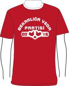 Bekarlığa veda partisi tişörtleri